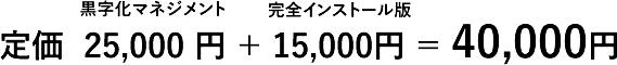 定価51,000円を