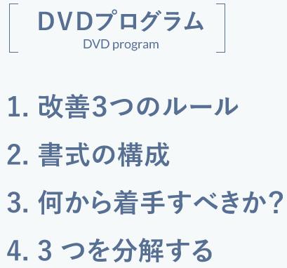 DVDプログラム